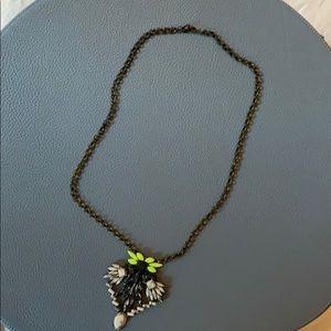 BaubleBar Howlite Joaquin Amulet necklace